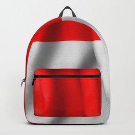 Indonesia Flag Backpack