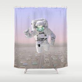 ASTRO FISH Shower Curtain