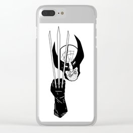 Let's go bub! Clear iPhone Case