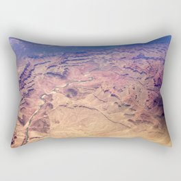 Grand Canyon From Above Rectangular Pillow