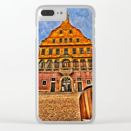 Oath House Ulm, Germany ( local history museum ) Clear iPhone Case