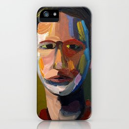 Colorful man iPhone Case