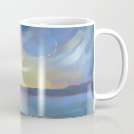 Pōneke Wellington Harbour Coffee Mug