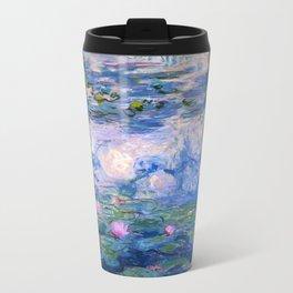 Water Lilies Monet Travel Mug