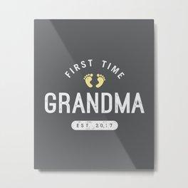 First Time Grandma (2017) Metal Print