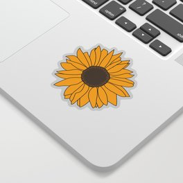 Sunflower Power Sticker