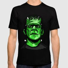 Frankenstein  Black SMALL Mens Fitted Tee