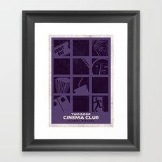 Two Door Cinema Club - Tourist History Framed Art Print
