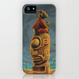 Koshi Greets The Storm iPhone Case