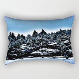 Snowy Days Rectangular Pillow