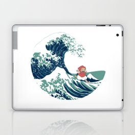 Ponyo and the great wave Laptop & iPad Skin