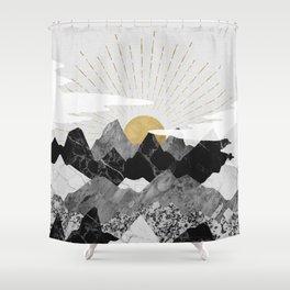 Sun rise Shower Curtain
