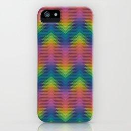 Triangular Entropy iPhone Case