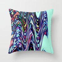 sprinkles Throw Pillows featuring Sprinkles by Taylor Murray