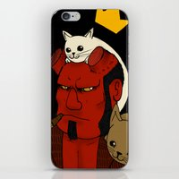 hell iPhone & iPod Skins featuring hell by nu boniglio