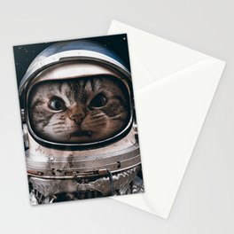 Space catet Stationery Cards