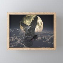 Flying idea Framed Mini Art Print