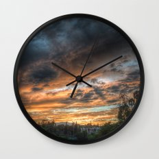 Vista (the sky is source of great beauty) Wall Clock