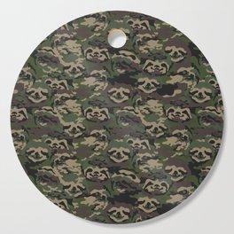 Sloth Camouflage Cutting Board