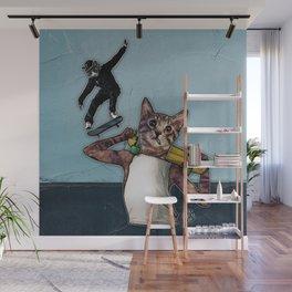 Stingray & Sneakers, Skate Cats Wall Mural