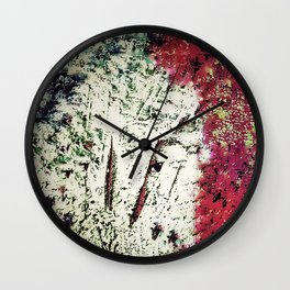 To Camouflage in Happiness #SWIM Wall Clock