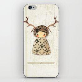 Deer paperdolls iPhone Skin