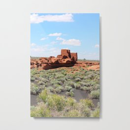 Ancient Dwelling Metal Print