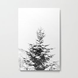 Fir Tree Metal Print