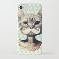 kitten iPhone & iPod Cases featuring Kitten by zumzzet