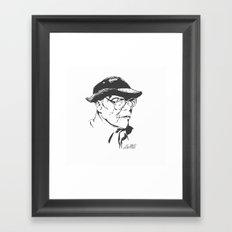 Old Swagger Framed Art Print