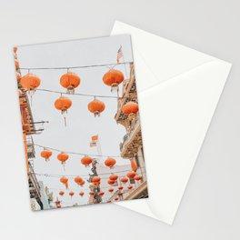 Chinatown II / San Francisco, California Stationery Cards