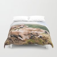 switzerland Duvet Covers featuring From Switzerland with Love by Tomas Hudolin