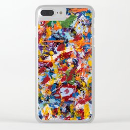 Crippled thoughts Clear iPhone Case