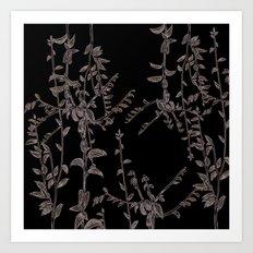botanical composition Art Print