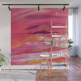 Sunset on a Sea of Love Wall Mural