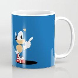 Minimal Sonic Coffee Mug