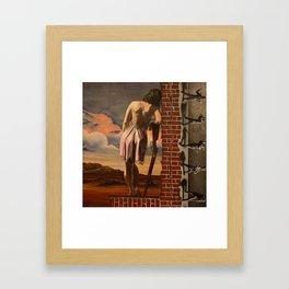 Ledge of Sanity Framed Art Print
