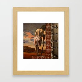 Ledge of Sanity Framed Art Print