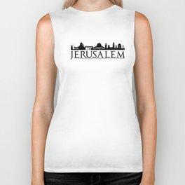 Jerusalem Israel Middle East Love Travel Biker Tank