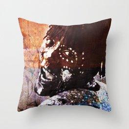 The Black Guy Throw Pillow