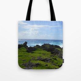 Land, Sea, & Sky Tote Bag