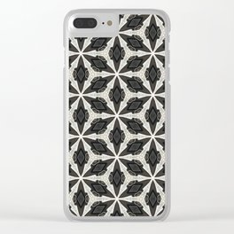 Openwork Abstract Pattern Clear iPhone Case