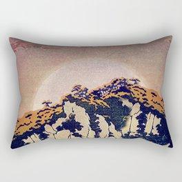 Guiding me across Nobe Rectangular Pillow