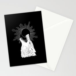 Hati Chasing the Moon Stationery Cards