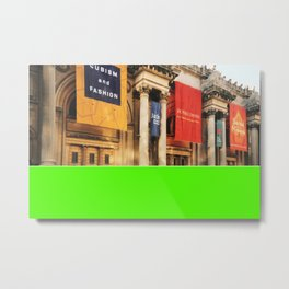 Americana - Metropolitan Museum of Art - Manhatten - NYC Metal Print