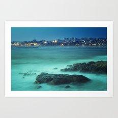 Milky Ocean Art Print