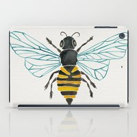 bee iPad Cases featuring Honey Bee by Cat Coquillette