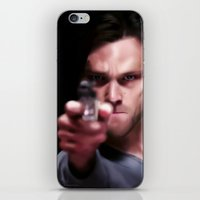 winchester iPhone & iPod Skins featuring Sam Winchester by thefluidlines