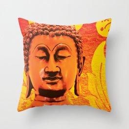 Buddha - A Deep Meditation Throw Pillow