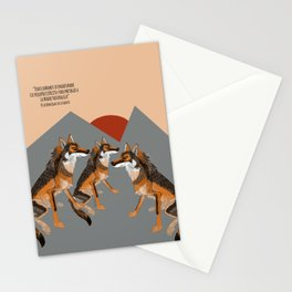 Wolves of the World: Iberian wolf (GREFA) Stationery Cards